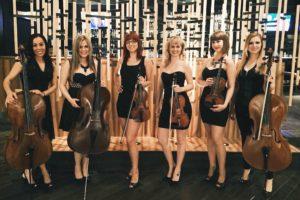 6 Phat Strad girls at Four Seasons